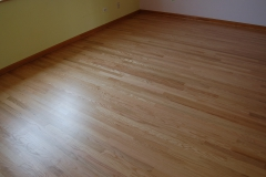 new floor red oak satin09