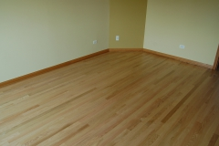 new floor red oak satin10