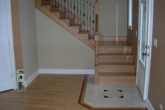 new floor red oak satin17