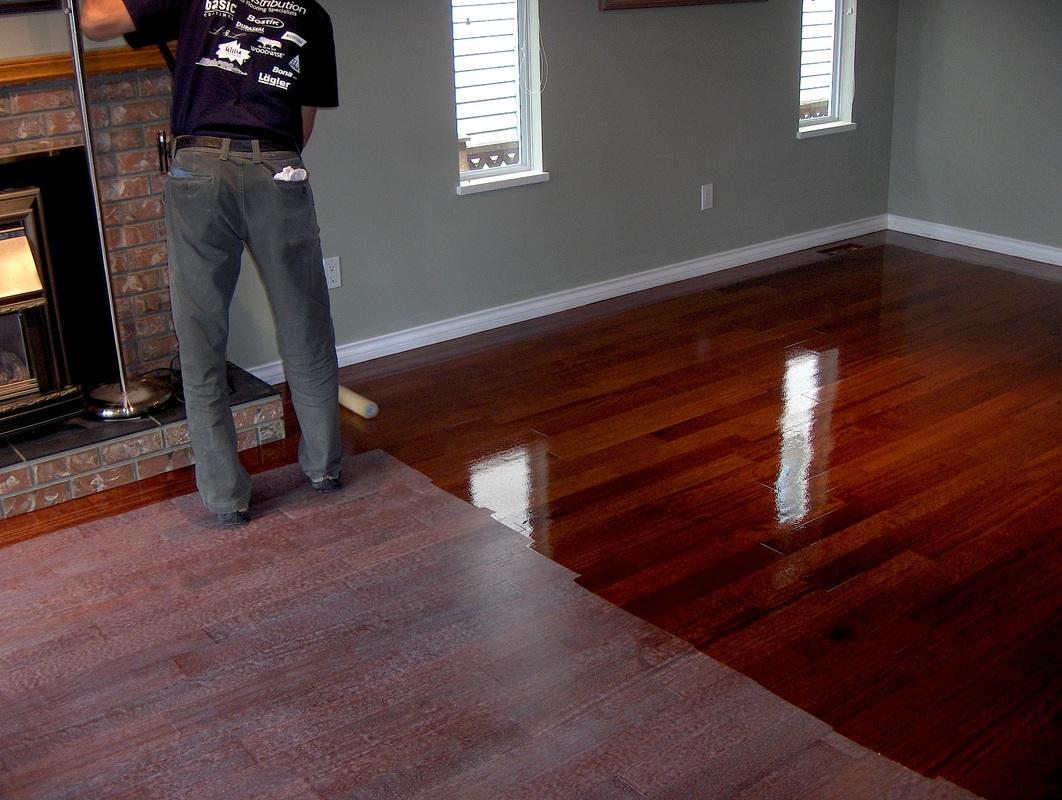 Hardwood Floor Refinishing in Tinley Park